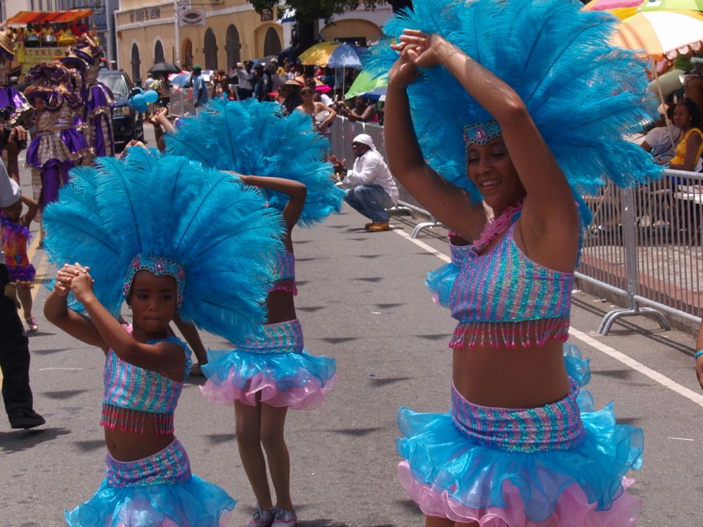 Caribbean Ritual Dancers in all sizes.