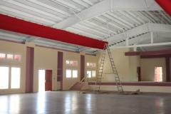 This new gymnasium at Addelita Cancryn Junior High School is almost ready for use. (Photo provided by V.I. Department of Education.)
