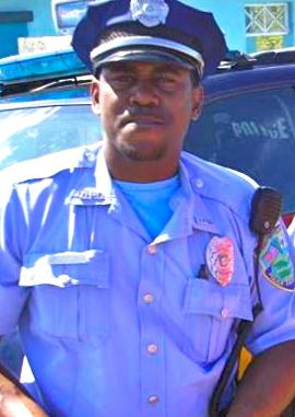 V.I. Police Officer Colvin Georges