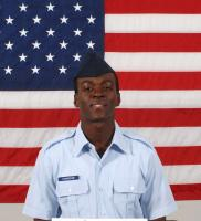 Air Force Airman Nathaniel Commodore