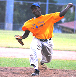 St. Croix reliever Shaquille Joseph got the final three outs.