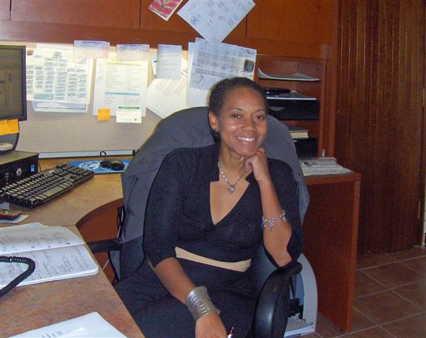 Dionne Jackson, UVI Vice President for Institutional Advancement, says she always knew she'd be returning to the territory.