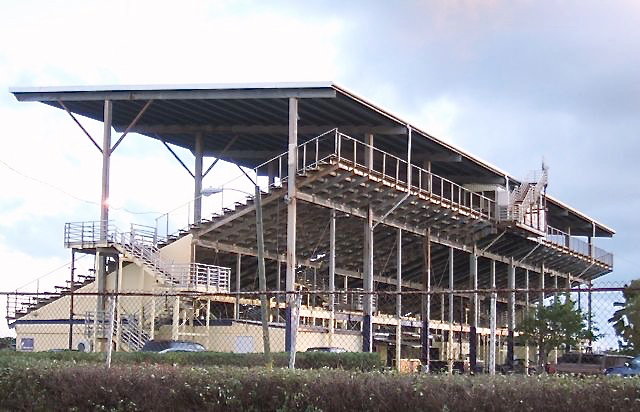 "The Randall ""Doc"" James Racetrack on St. Croix is silent while horsemen, the track operators and the government squabble."