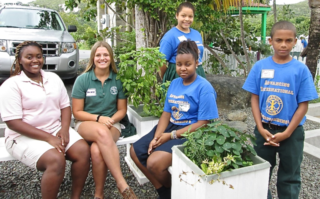From left, Jah'sheada Griffith, Nicole Cirigliano, Liliana Remington, Kemica Bell, and Dylan Vante.