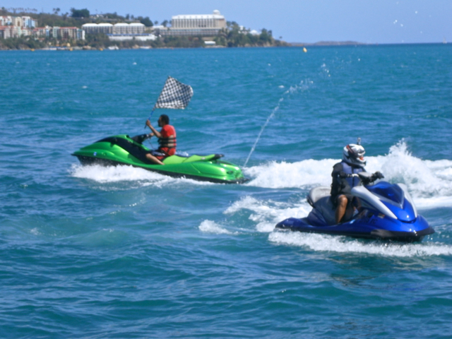 The combination of high speed boats, live music and a variety of food ...