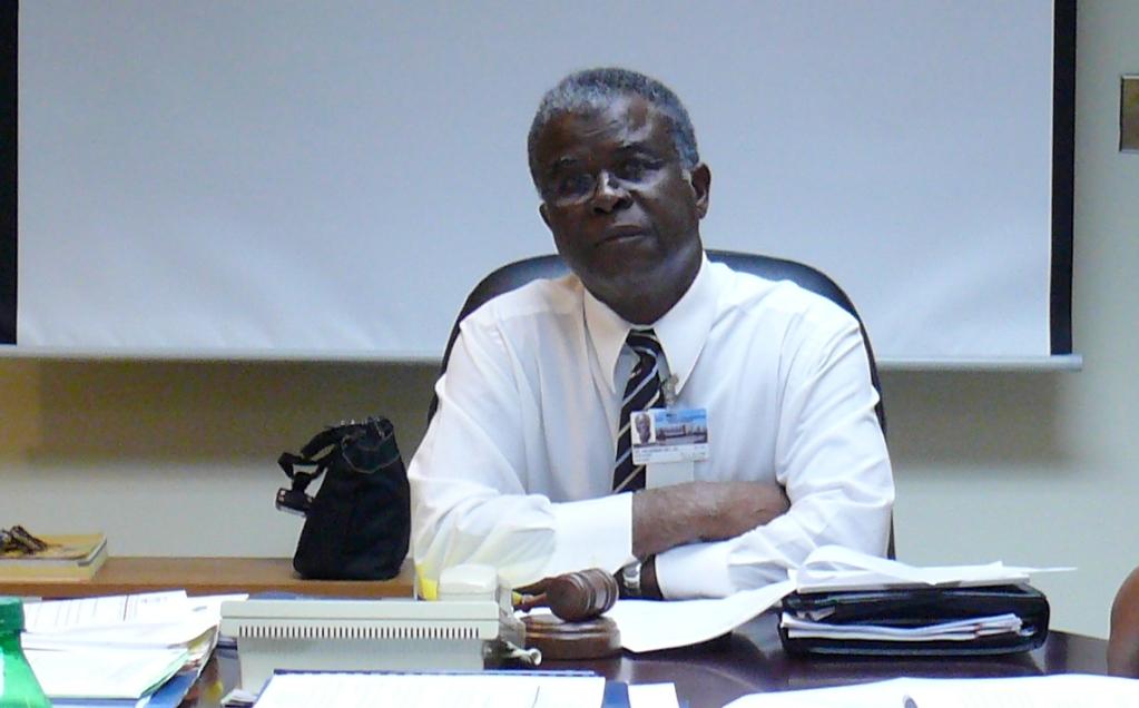 JFL Board Chair Valdemar Hill.