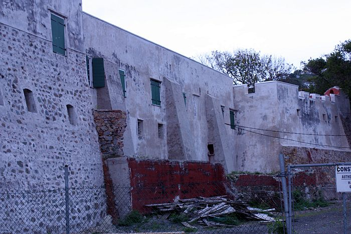 Senators pushed Tuesday for the completion of repairs to historic Fort Christian, which have been ongoing since 2005.