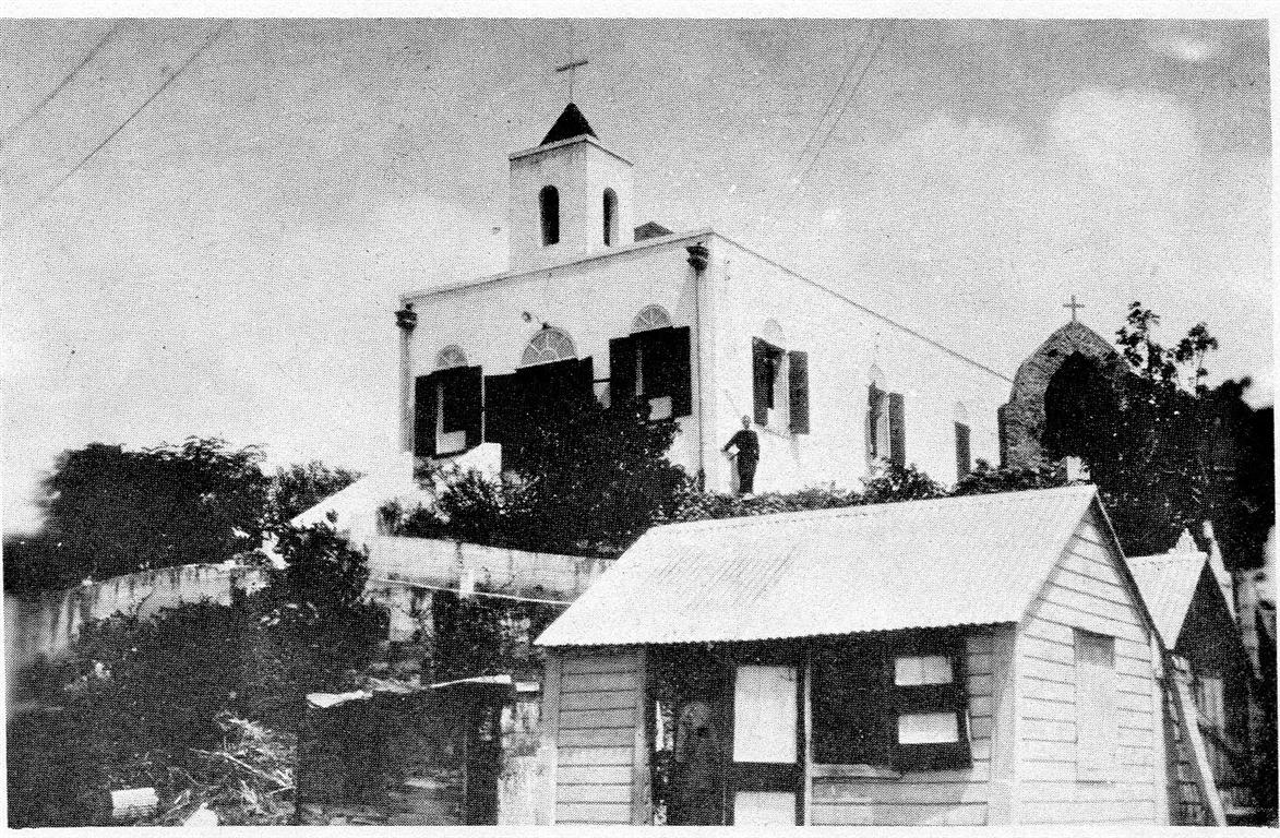 The original chapel in the 1920s.