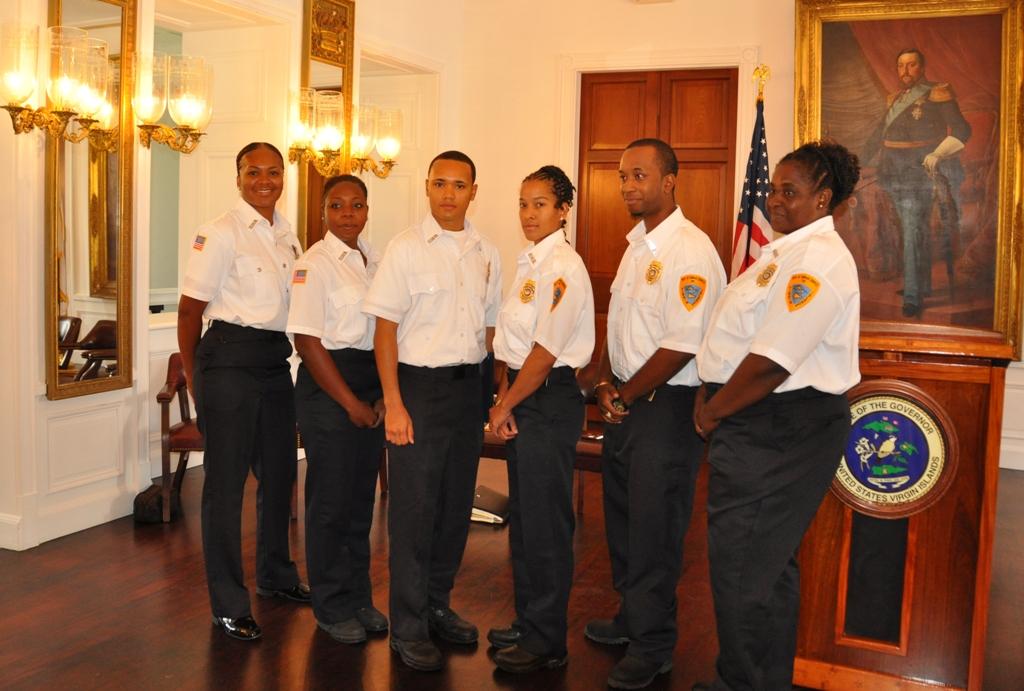 sharazade umrani nicole orr juan becerril zoraida martin jamal rogers nine new correction officers