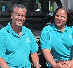Greg and Josephine Edward