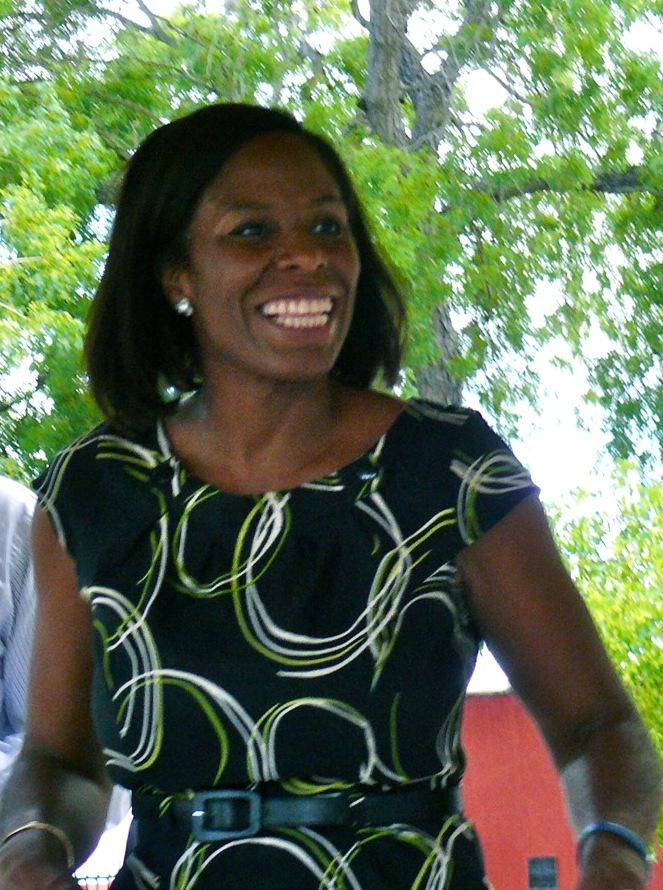St. Croix attorney Stacey Plaskett announced plans to challenge Delegate Donna Christensen in the Democratic primary.