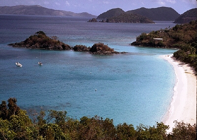 Trunk Bay on St. John was one of five territory beaches given a Blue Flag rating.