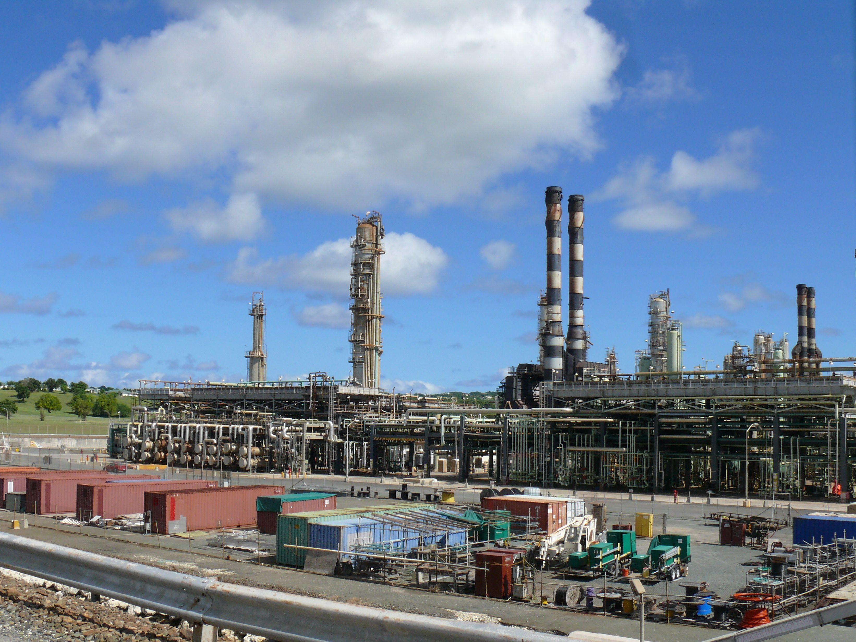 Hovensa refinery.