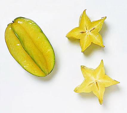 Carambola or starfruit.