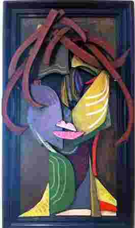 Burnt Siena Hair Girl by W.B. Thompson