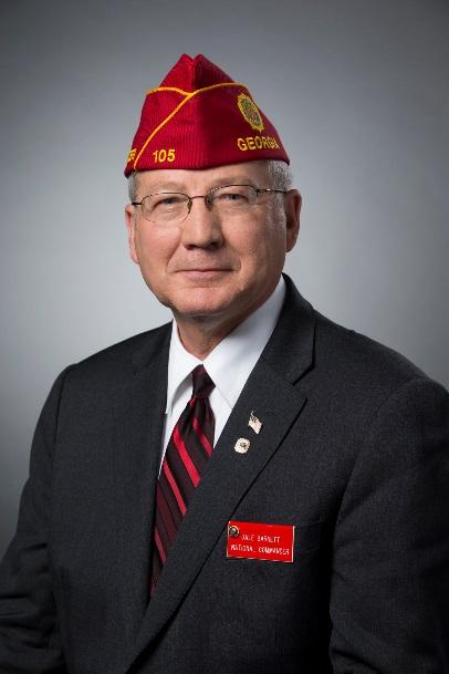 American Legion National Commander Dale Barnett