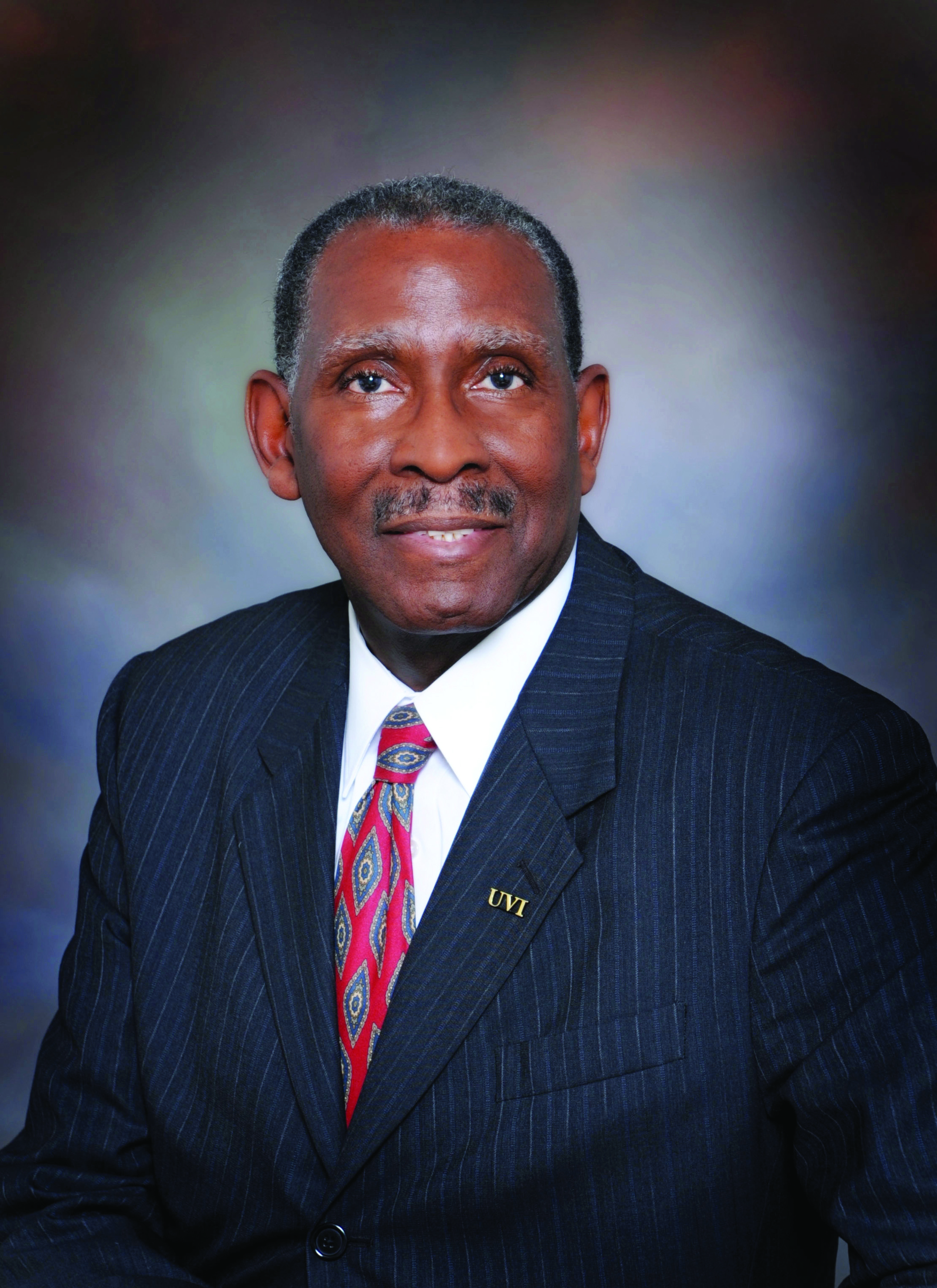 President David Hall of University of the Virgin Islands