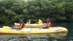 MBS students on the VI Eco Tour and Snorkeling Expedition