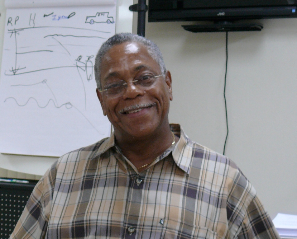 New Crime Prevention Director Ronald Hatcher has high hopes for the islands' youth.