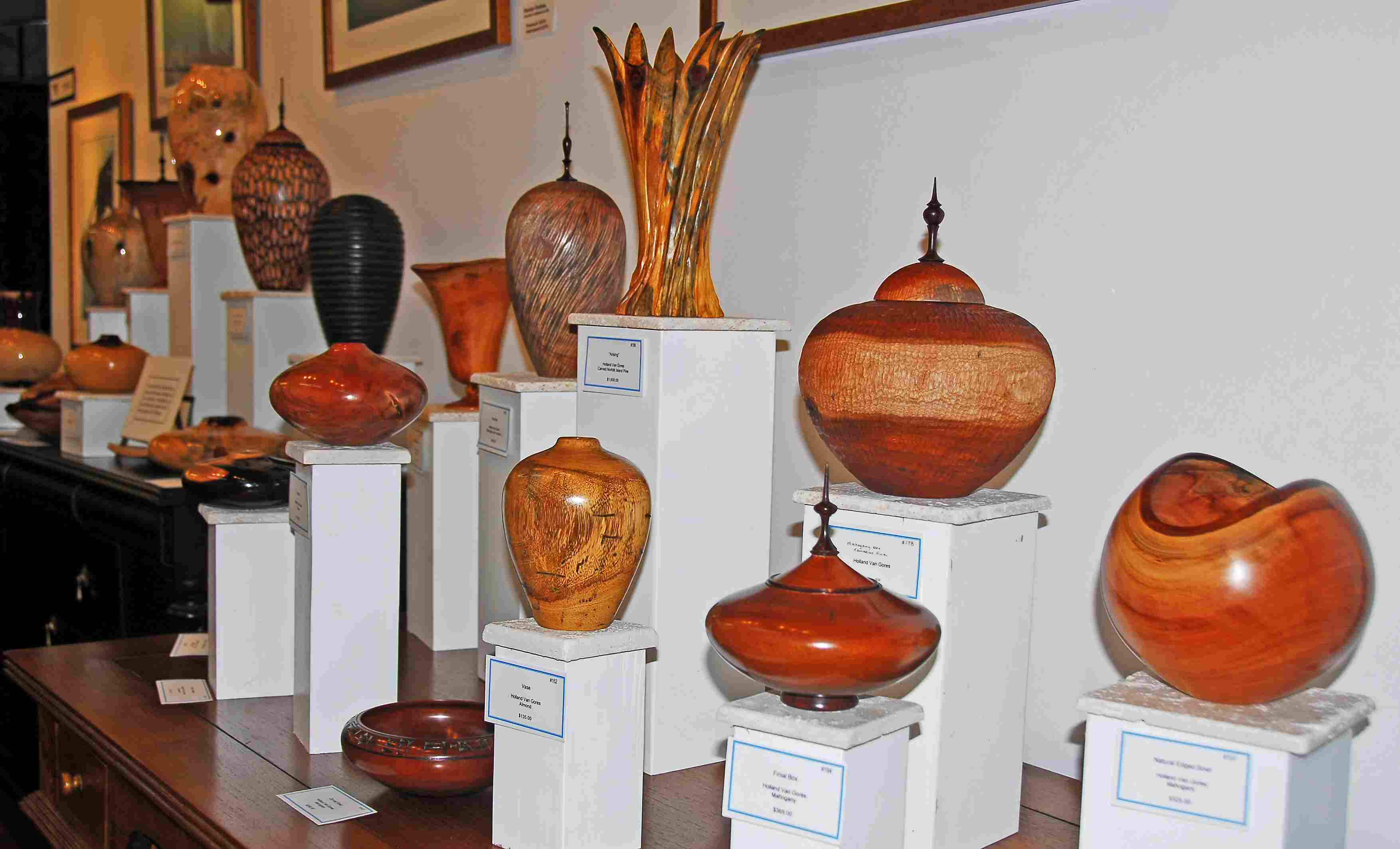 Holland Van Gores' provocative wood turnings