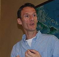 Jason Budsan, president of the V.I. Conservation Society.