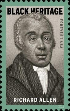 Richard Allen Stamp will commemorate the preacher, activist and civic leader.