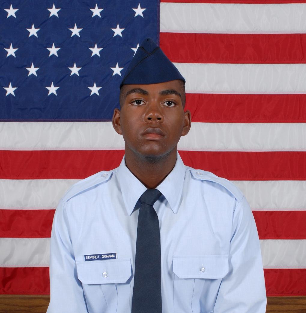 Air Force Airman Shaine J. Dewindt-Graham