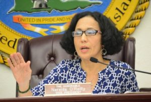 "Sen. Nereida ""Nellie"" Rivera-O'Reilly. (V.I. Legislature photo)"