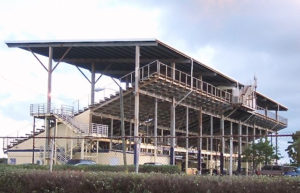 St. Croix's Randall 'Doc' James racetrack is on land that may be designated as solely for aviation. (File photo)