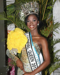 2017 Carnival Queen Mary-Alice Prosper (Photo provided by V.I. Carnival Committee)