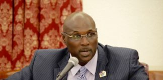 Sen. Novelle Francis (File photo by Barry Leerdam for the V.I. Legislature)