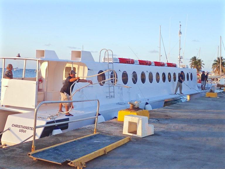 Ferry Begins STX to STT Service