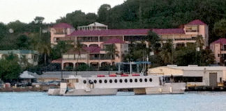 The QE-IV ferry will resume limited service between St. Thomas and St. Croix beginning Wednesday. (Source file photo)