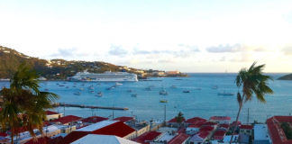 Boats large and small line Charlotte Amalie harbor. They'll have more company soon as the V.I. government finds operators to run a water taxi service in the harbor. (File photo)