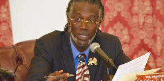 Sen. Positive Nelson (Photo by Barry Leerdam, provided by the V.I. Legislature)
