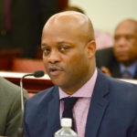 Finance Commissioner Valdamier Collens (File photo)