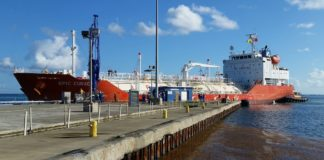 VITOL propane shipment arrives on St. Croix in 2015, from V.I. Source archives
