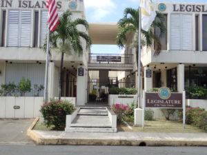 The Legislature building on St. Croix (Susan Ellis photo)