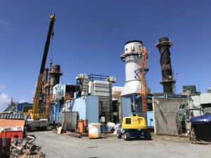 Generating unit 23 on St. Thomas. (File photo)