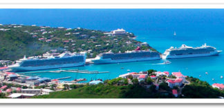 Cruise ships at port in St. Thomas. (File photo)