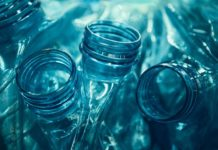 Plastic bottles, crushed and ready to recycle. (File photo)