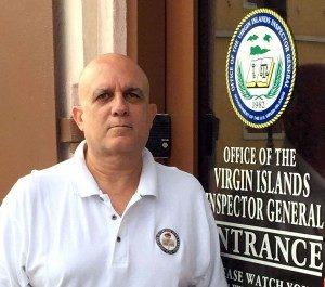 V.I. Inspector General Steven van Beverhoudt (Photo from IG's website)