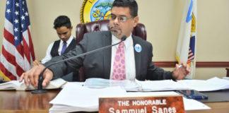 Sen. Sammuel Sanes (File photo)