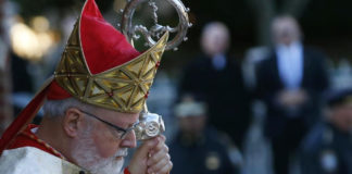 Boston's Cardinal Sean O'Malley, formerly the Bishop of St. Thomas, had words of compassion on the death of former Cardinal Bernard Law.