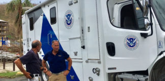 FEMA on St. John got better connected to other relief agencies in the territory through the arrival of this communications van,which arrived on the island Monday.