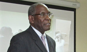 UVI President David Hall (File photo)