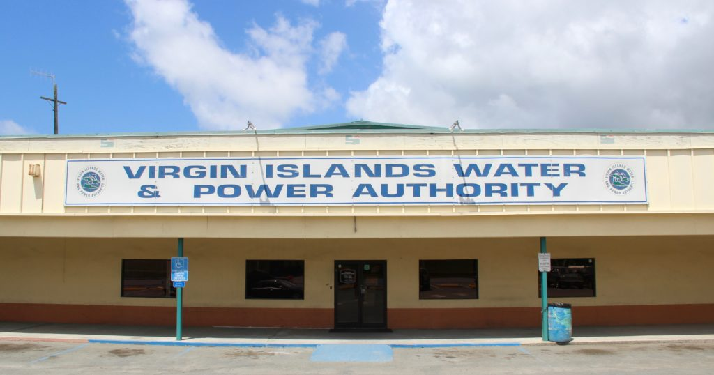 Water and Power Authority on St. Croix.