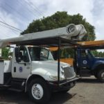 V.I. Water and Power Authority truck