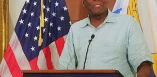UVI President David Hall confirms classes will begin Monday.. (Jamie Leonard photo)