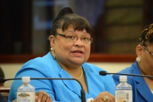 Education Commissioner Sharon McCollum (File photo)